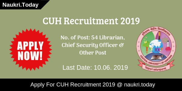 CUH Recruitment