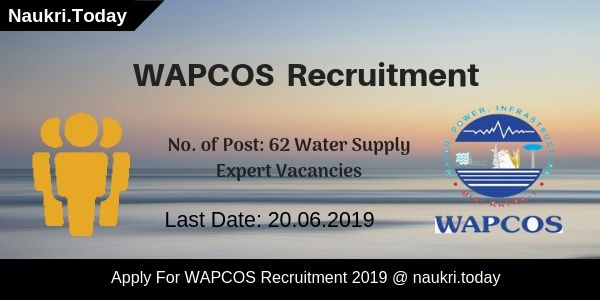 WAPCOS Recruitment