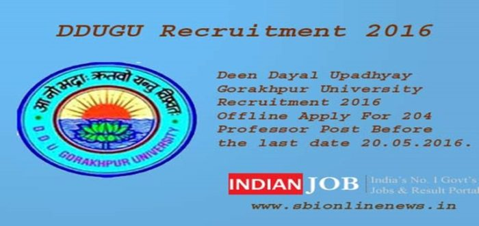 DDUGU Recruitment 2016 copy