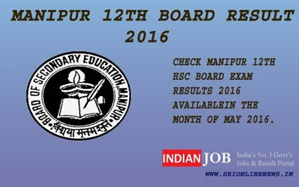 Manipur 12th Board Results 2016