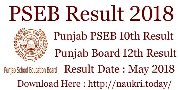 Pseb 10th class result 2019