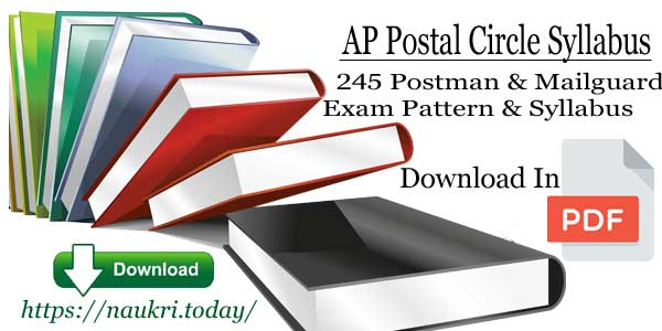 AP Postal Circle Syllabus