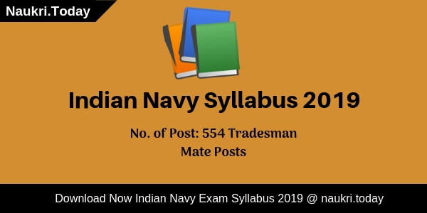 Indian Navy Syllabus