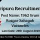 RDD Tripura Recruitment