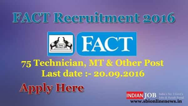 FACT Recruitment 2016