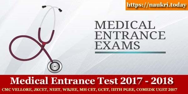 Medical Entrance Exams