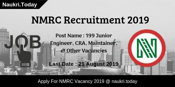 NMRC Recruitment