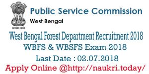 West Bengal Forest Department Recruitment