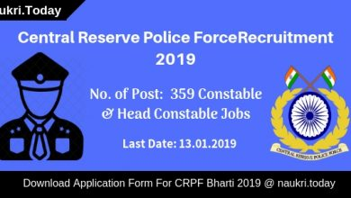 CRPF Recruitment