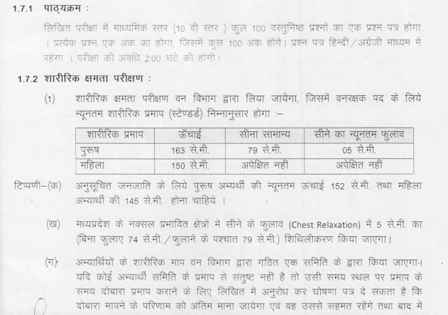download mppeb forest guard admit card 2017 mp vyapam
