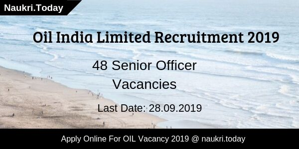 Oil Indian Limited Recruitment