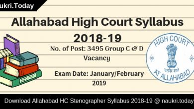 Allahabad High Court Syllabus 2018-19