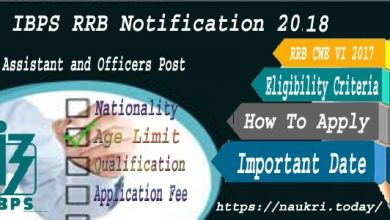 IBPS RRB Notification 2018