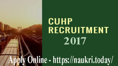 CUHP Recruitment