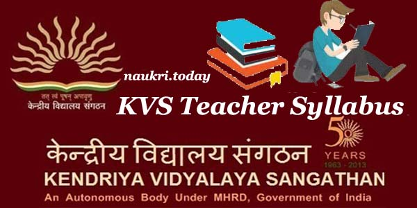 download kvs teacher syllabus 2018 kvs tgt pgt prt exam scheme