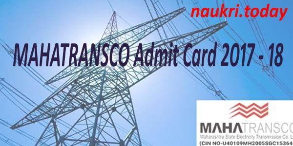 MAHATRANSCO Admit Card