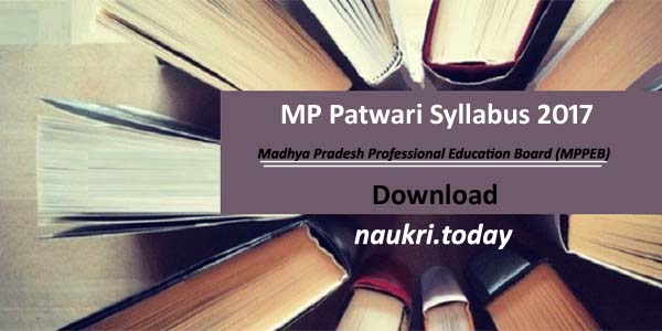 MP Patwari Syllabus