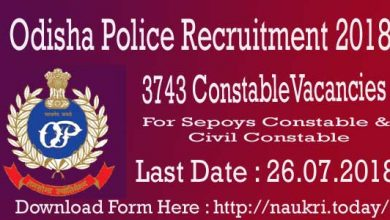 Odisha Police Recruitment