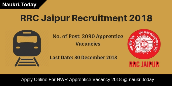 RRC Jaipur Recruitment