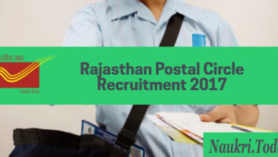 Rajasthan Post Office Recruitment