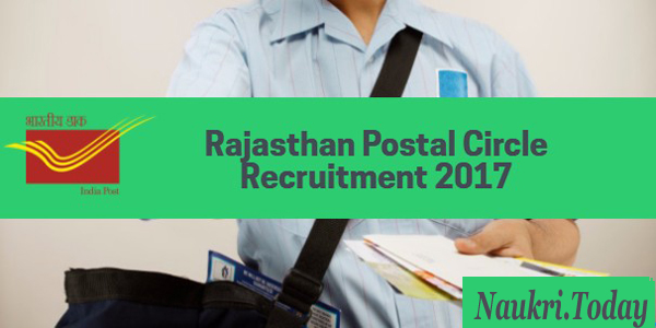 Rajasthan Post Office Recruitment 2017 Apply Online For 186 Vacancy