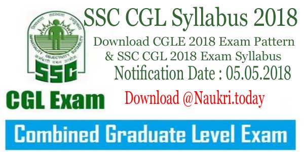Ssc Cgl Notification Pdf