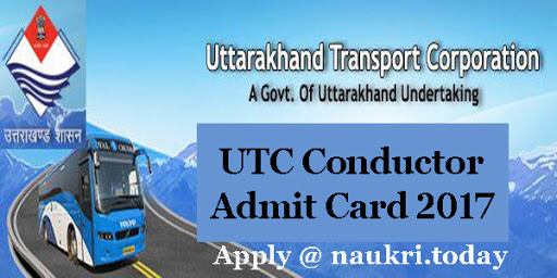 UTC Conductor Admit Card