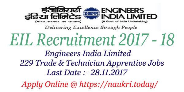 EIL Recruitment 2017 – 18 for Engineers India Limited 229 Apprentice on application to date my son, application to join motorcycle club, application error, application service provider, application in spanish, application database diagram, application insights, application to rent california, application for scholarship sample, application trial, application to be my boyfriend, application template, application submitted, application clip art, application for employment, application approved, application to join a club, application meaning in science, application for rental, application cartoon,