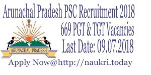 Arunachal Pradesh Recruitment