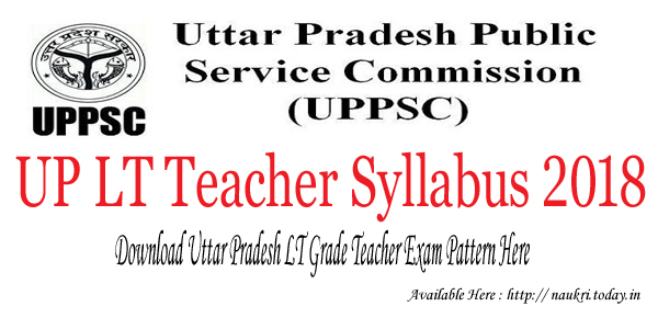 UP LT Teacher Syllabus