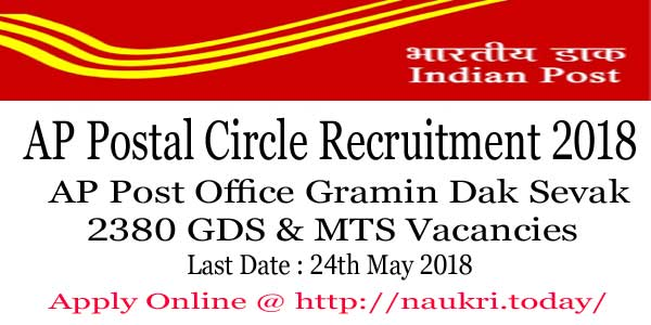 AP Postal Circle Recruitment