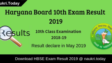 Haryana Board Result