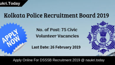 Kolkata Police Recruitment (1)