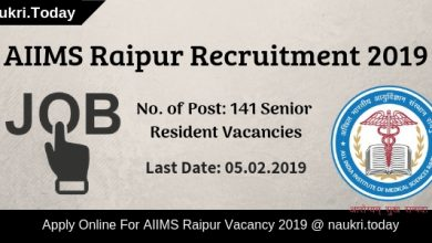 AIIMS Raipur Recruitment (1)