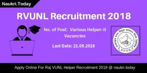 RVUNL Recruitment