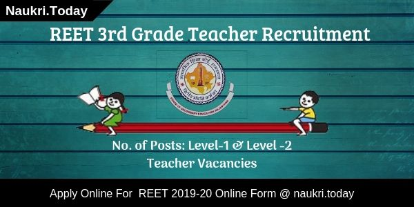 REET 3rd Grade Teacher Recruitment