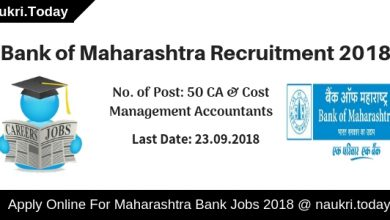 Bank of Maharashtra Recruitment 2018