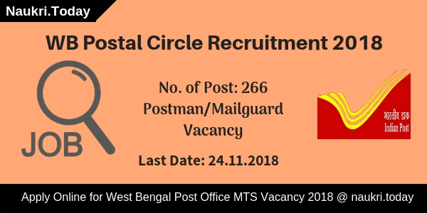 WB Postal Circle Recruitment