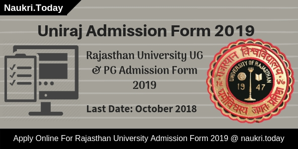 Uniraj Admission Form