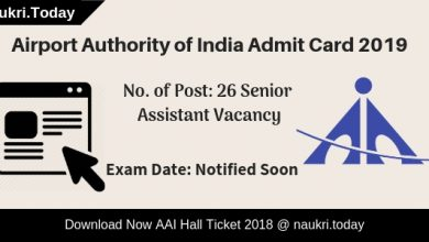 AAI Admit Card
