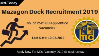 Mazagon Dock Recruitment