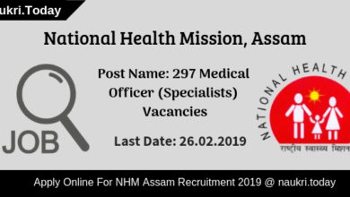 NHM Assam Recruitment