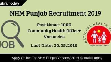 NHM Punjab Recruitment