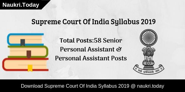 Supreme Court Syllabus