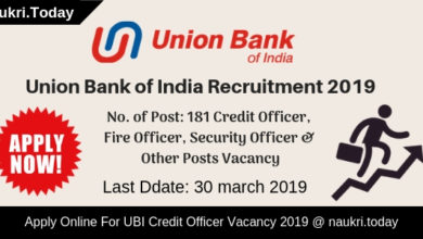 Union Bank of India Recruitment (1)