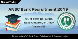 ANSC Bank Syllabus