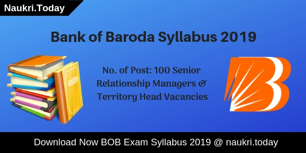 Bank of Baroda Syllabus
