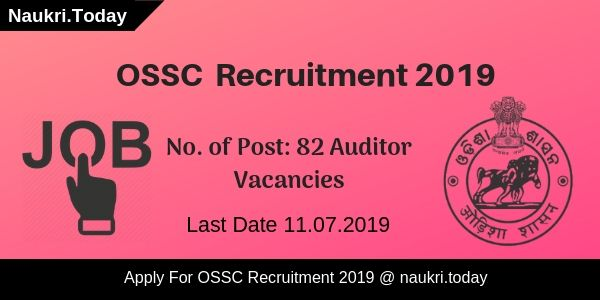 OSSC Recruitment 2019 (1)