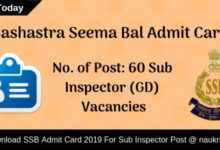 SSB Admit Card (1)