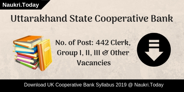 UK Cooperative Bank Syllabus